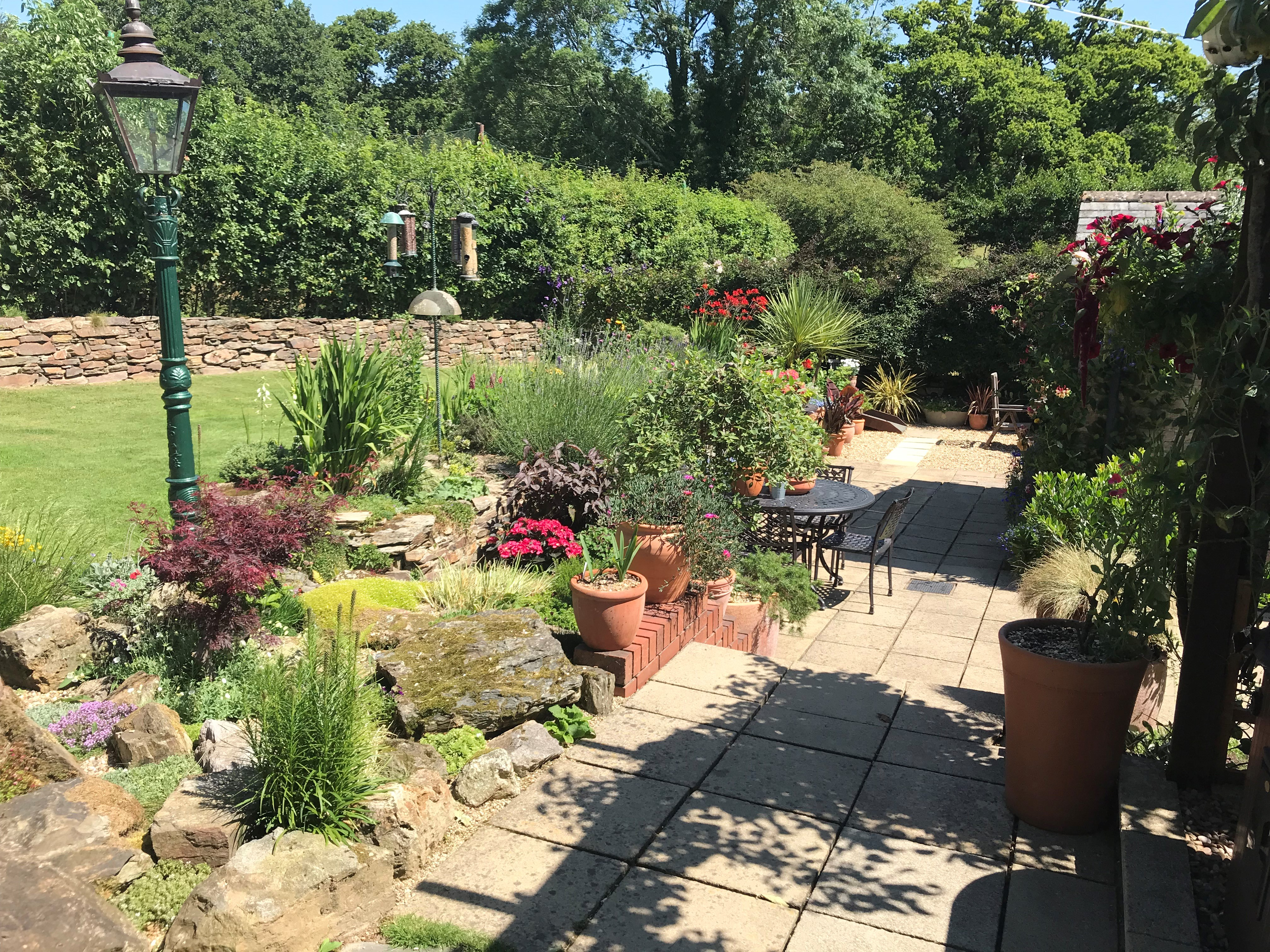 A photo of a garden - The winner of the Calor Gardens competition